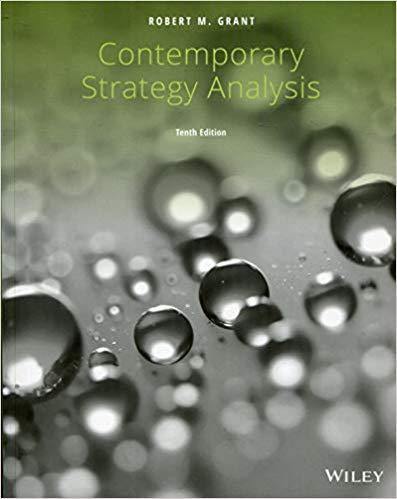 E-Book Contemporary Strategy Analysis, 10E Enhanced eText