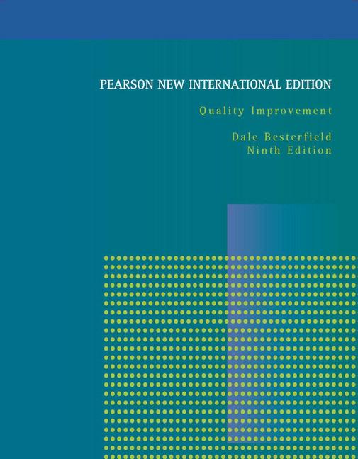 eBook_Quality Improvement: Pearson New International Edition, 9th  Edtion